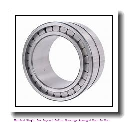 skf 32030 X/DF Matched Single row tapered roller bearings arranged face-to-face