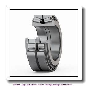 skf 32017 X/DF Matched Single row tapered roller bearings arranged face-to-face