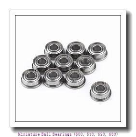 timken 605-2RZ Miniature Ball Bearings (600, 610, 620, 630)