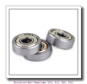 timken 629-ZZ Miniature Ball Bearings (600, 610, 620, 630)