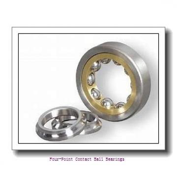90 mm x 160 mm x 30 mm  skf QJ 218 N2MA four-point contact ball bearings