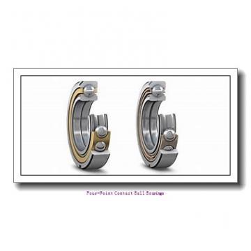 17 mm x 40 mm x 12 mm  skf QJ 203 N2MA four-point contact ball bearings