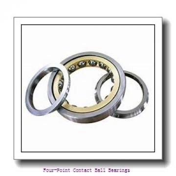 35 mm x 72 mm x 17 mm  skf QJ 207 N2MA four-point contact ball bearings