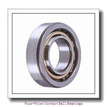 75 mm x 130 mm x 25 mm  skf QJ 215 MA four-point contact ball bearings