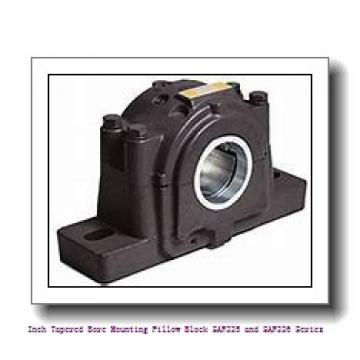 2.688 Inch | 68.275 Millimeter x 1.75 in x 14.25 in  timken SAF 22616 Inch Tapered Bore Mounting Pillow Block SAF225 and SAF226 Series