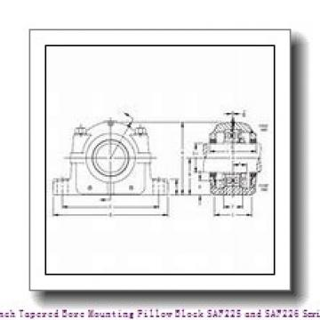 timken SAF 22620 3-3/8 Inch Tapered Bore Mounting Pillow Block SAF225 and SAF226 Series