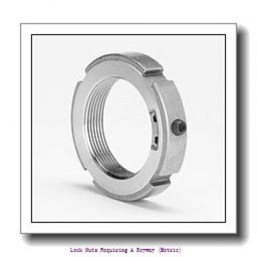skf KM 20 Lock nuts requiring a keyway (metric)