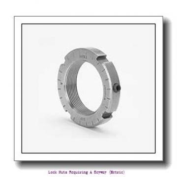 skf HME 30/500 Lock nuts requiring a keyway (metric)