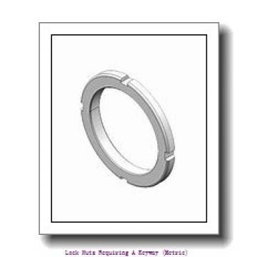 skf HM 31/670 Lock nuts requiring a keyway (metric)