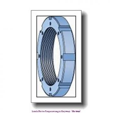 skf HME 31/600 Lock nuts requiring a keyway (metric)