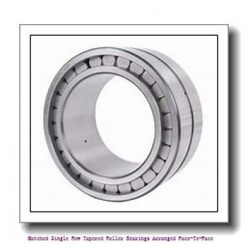 skf 32206/DF Matched Single row tapered roller bearings arranged face-to-face