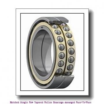 180 mm x 250 mm x 45 mm  skf 32936/DF Matched Single row tapered roller bearings arranged face-to-face
