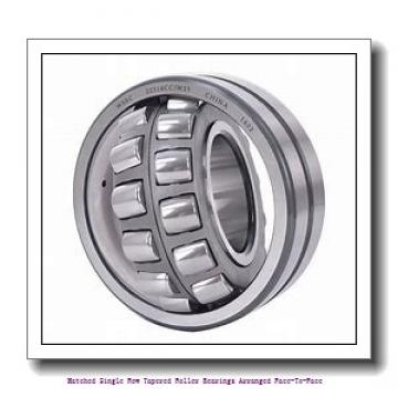 skf 31319/DF Matched Single row tapered roller bearings arranged face-to-face