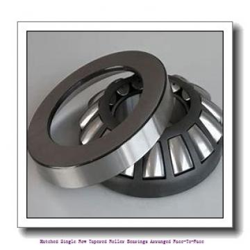 skf 32217/DF Matched Single row tapered roller bearings arranged face-to-face