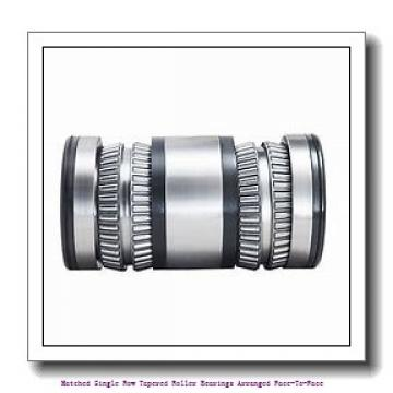 skf 33116/DF Matched Single row tapered roller bearings arranged face-to-face