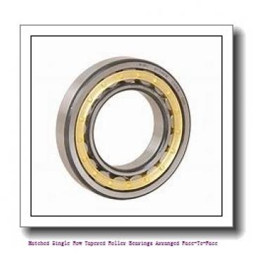 skf 31314/DF Matched Single row tapered roller bearings arranged face-to-face