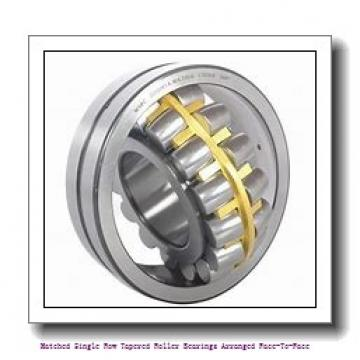 skf 31309/DF Matched Single row tapered roller bearings arranged face-to-face
