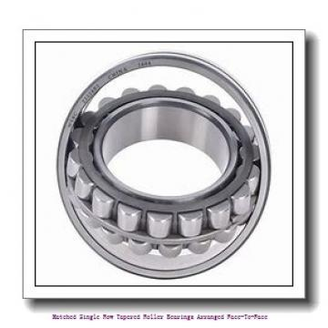 70 mm x 110 mm x 31 mm  skf 33014/DF Matched Single row tapered roller bearings arranged face-to-face