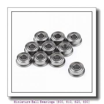 timken 634-ZZ Miniature Ball Bearings (600, 610, 620, 630)