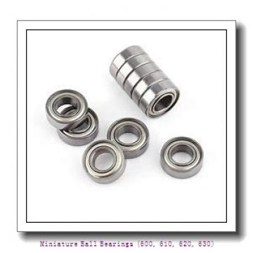 timken 619/4-2RZ Miniature Ball Bearings (600, 610, 620, 630)