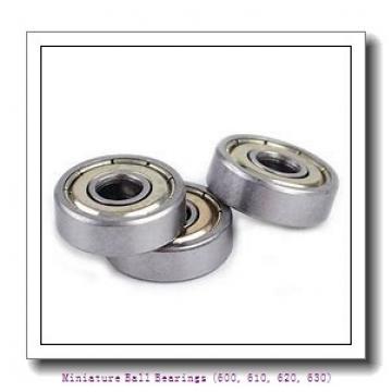 timken 619/8-2RZ Miniature Ball Bearings (600, 610, 620, 630)