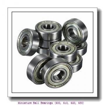 timken 627-2RZ Miniature Ball Bearings (600, 610, 620, 630)