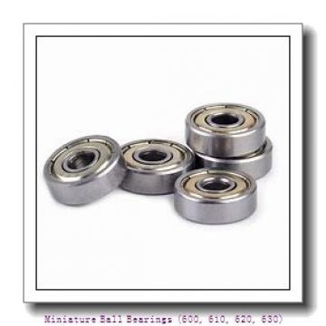 timken 639-2RZ Miniature Ball Bearings (600, 610, 620, 630)