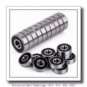 timken 637-2RS Miniature Ball Bearings (600, 610, 620, 630)