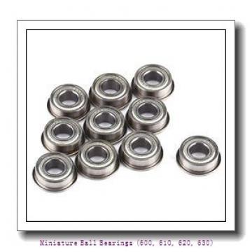 timken 618/5-2RS Miniature Ball Bearings (600, 610, 620, 630)