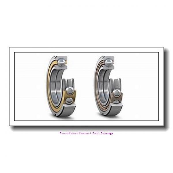 70 mm x 125 mm x 24 mm  skf QJ 214 N2MA four-point contact ball bearings #2 image