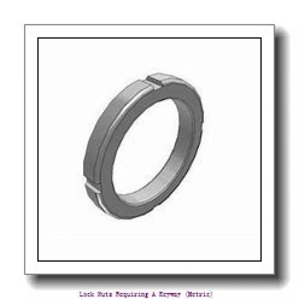 skf HM 3096 Lock nuts requiring a keyway (metric) #1 image