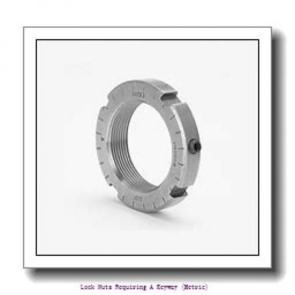 skf HM 3096 Lock nuts requiring a keyway (metric) #2 image