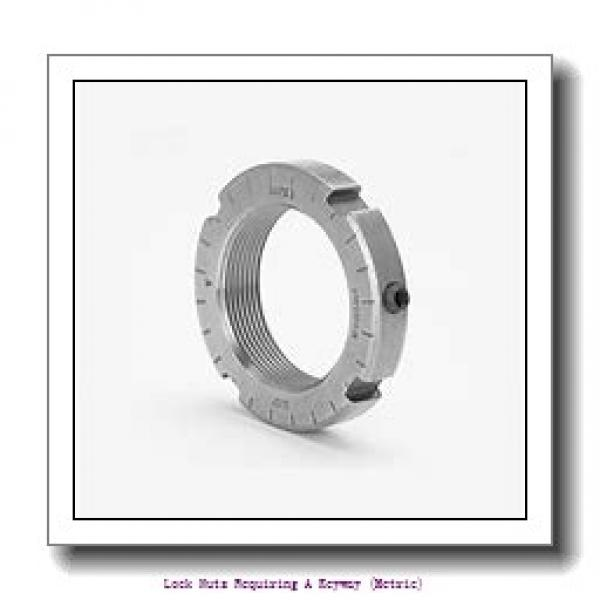 skf KM 33 Lock nuts requiring a keyway (metric) #1 image