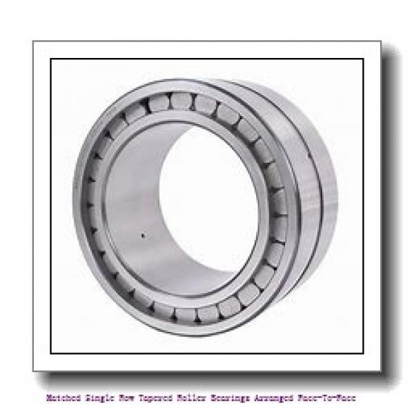 skf 33015/DF Matched Single row tapered roller bearings arranged face-to-face #2 image