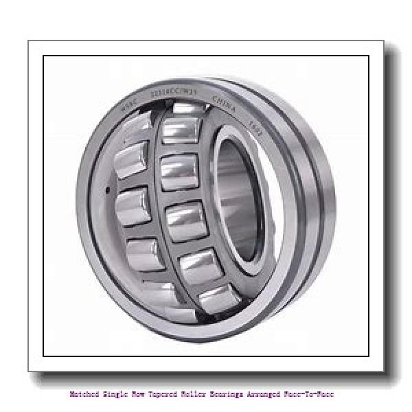 skf 32312/DF Matched Single row tapered roller bearings arranged face-to-face #1 image