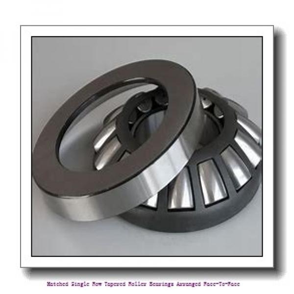 skf 33212/DF Matched Single row tapered roller bearings arranged face-to-face #1 image