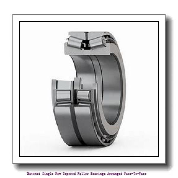 skf 33015/DF Matched Single row tapered roller bearings arranged face-to-face #1 image