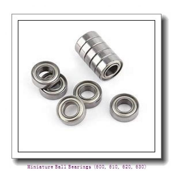 5 mm x 16 mm x 5 mm  timken 625-ZZ-C3 Miniature Ball Bearings (600, 610, 620, 630) #1 image