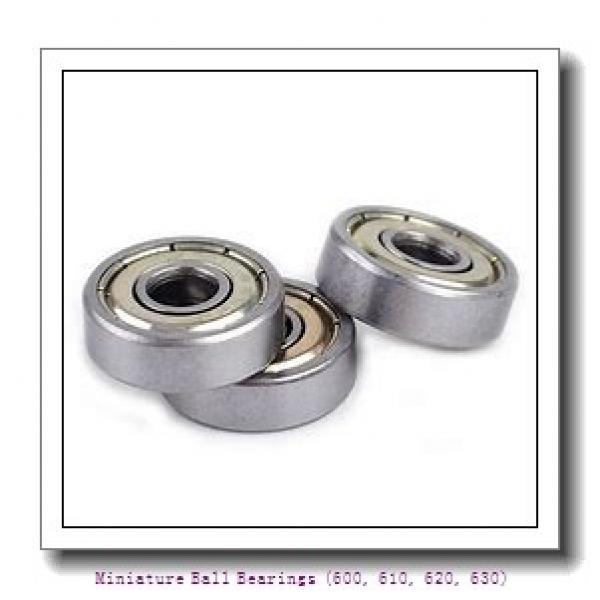 timken 618/9-2RZ Miniature Ball Bearings (600, 610, 620, 630) #1 image