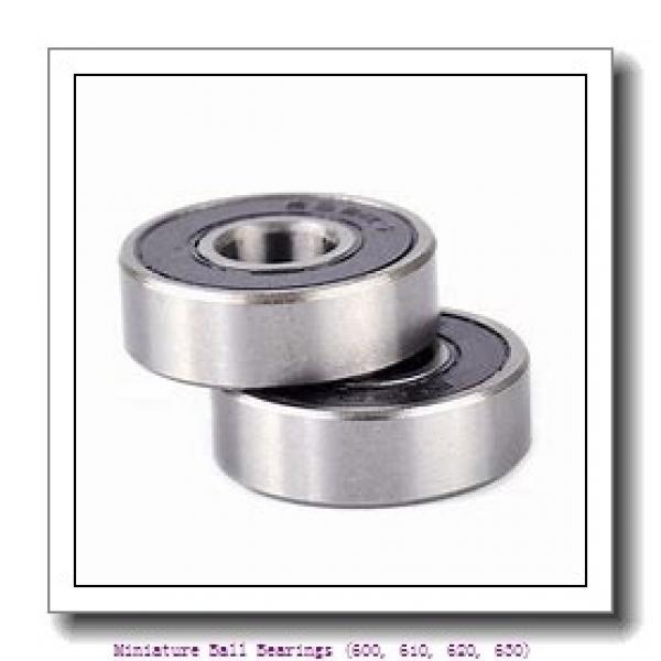 timken 607-2RZ Miniature Ball Bearings (600, 610, 620, 630) #1 image