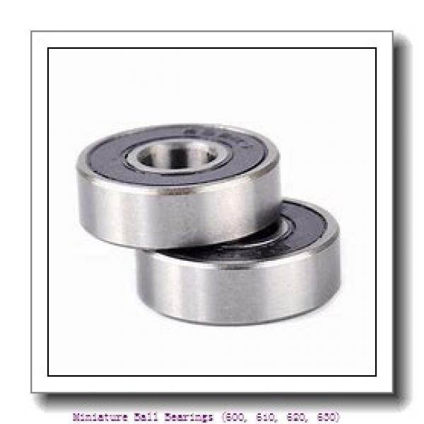 timken 618/3-ZZ Miniature Ball Bearings (600, 610, 620, 630) #2 image