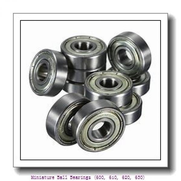 timken 605-2RZ Miniature Ball Bearings (600, 610, 620, 630) #2 image