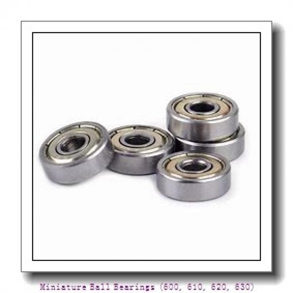 7 mm x 19 mm x 6 mm  timken 607-2RS-C3 Miniature Ball Bearings (600, 610, 620, 630) #1 image