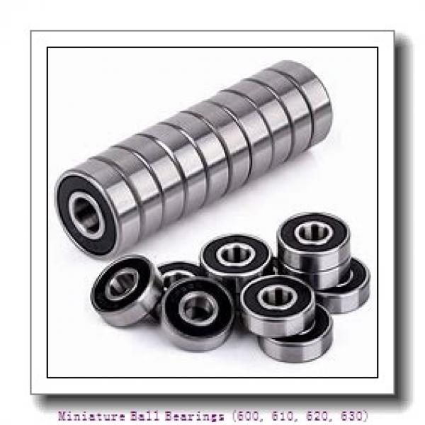 6 mm x 19 mm x 6 mm  timken 626-C3 Miniature Ball Bearings (600, 610, 620, 630) #1 image